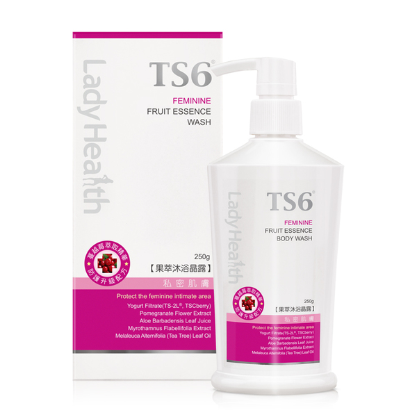 TS6果萃沐浴晶露